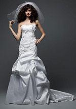 Свадебное платье, русалка