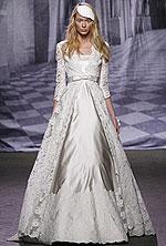 Свадебное платье, классика
